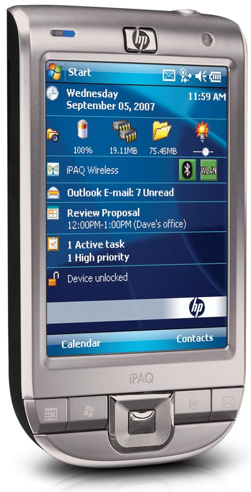 HP iPAQ rx4240 handheld Windows Mobile 5.0 2.83 Series